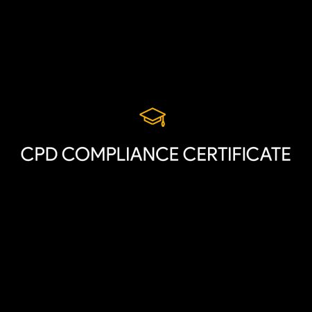 CPD Compliance Certificate 2021/22